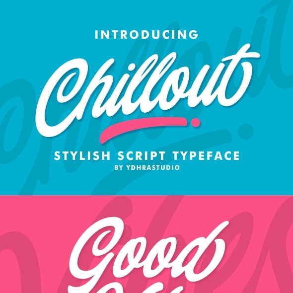 Chillout Typeface + Swash
