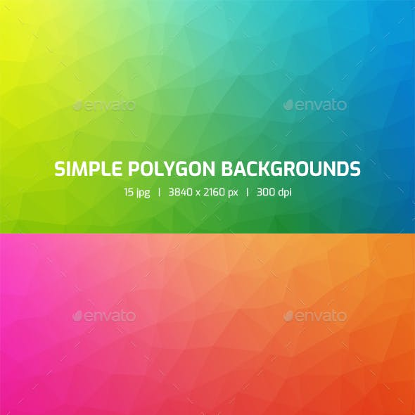 Simple Polygon Backgrounds