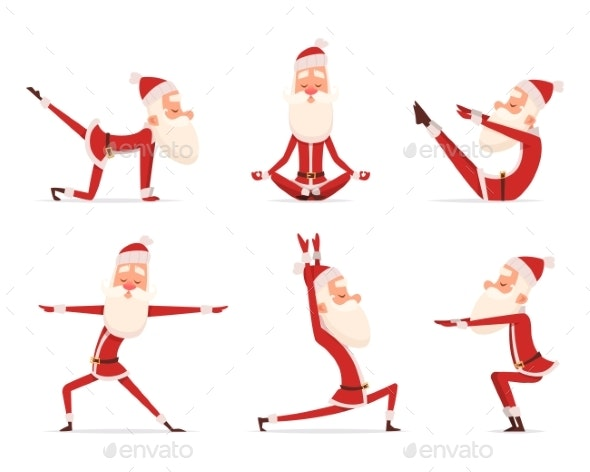 Santa Yoga - Christmas Seasons/Holidays