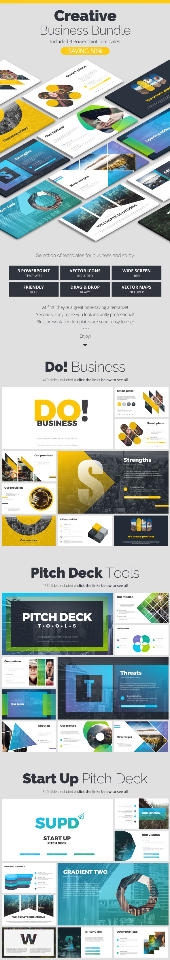 Creative Bundle - Creative PowerPoint Templates