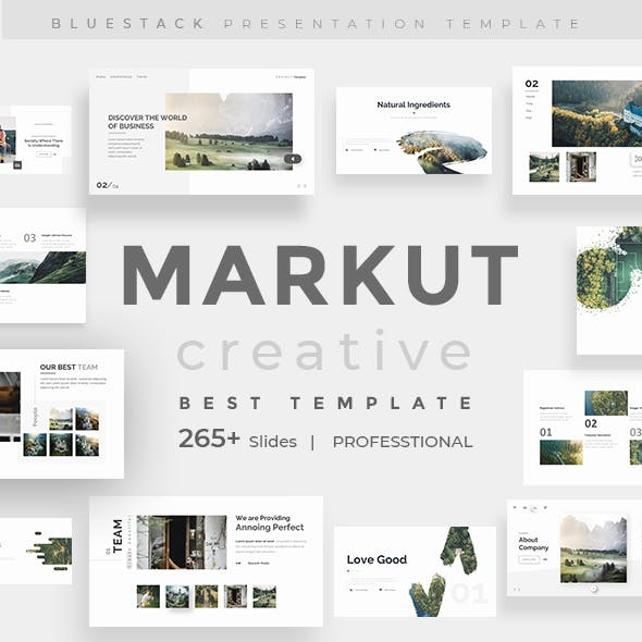 Markut Presentation Templates from GraphicRiver