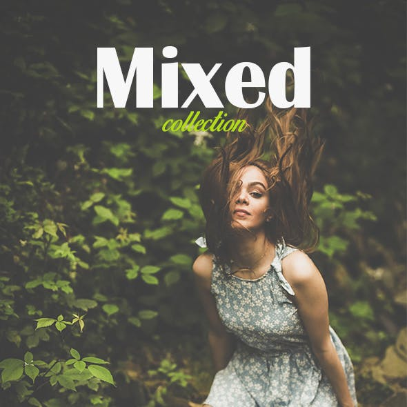 50 Premium Mixed Collection Lightroom Presets