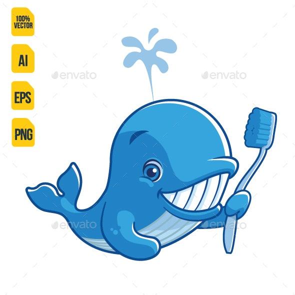 Whale Teeth - Animals Characters