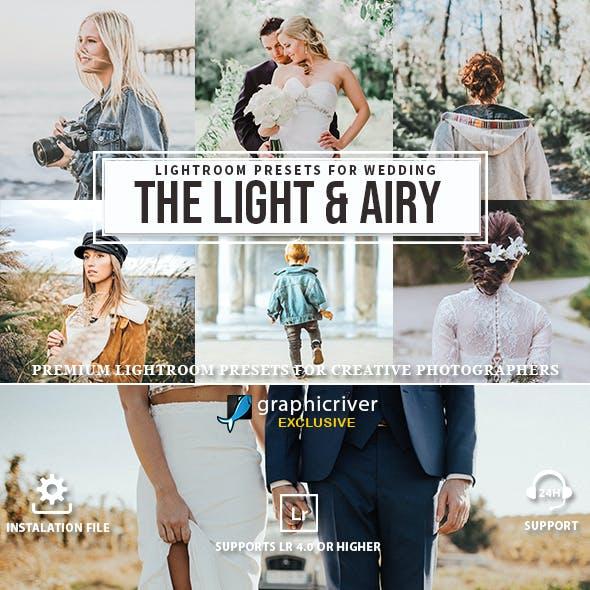 Light Airy Lightroom Presets & Mobile