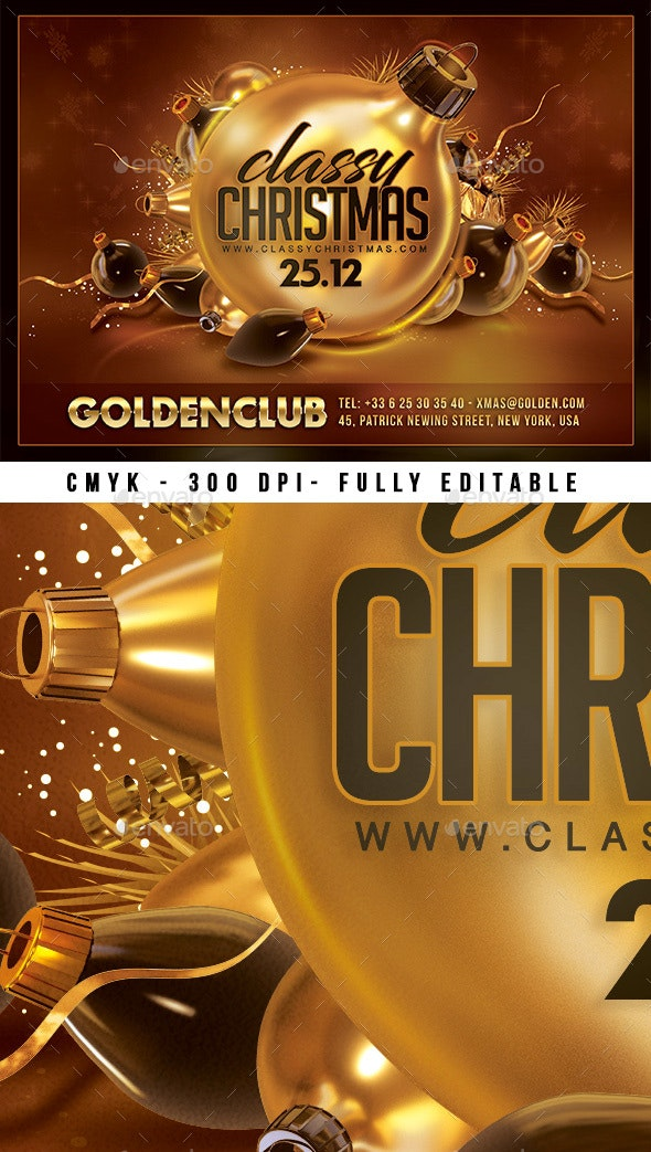 Classy Christmas Party - Clubs & Parties Events