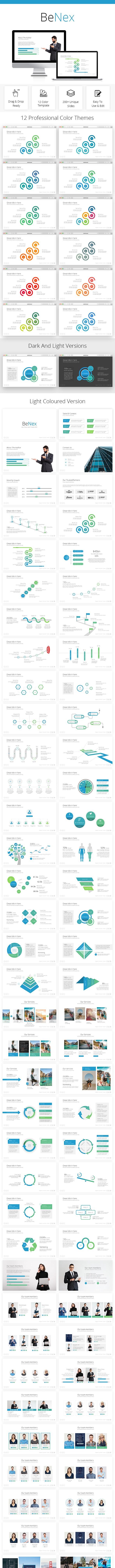 BeNex Business Powerpoint Template 2018 - PowerPoint Templates Presentation Templates