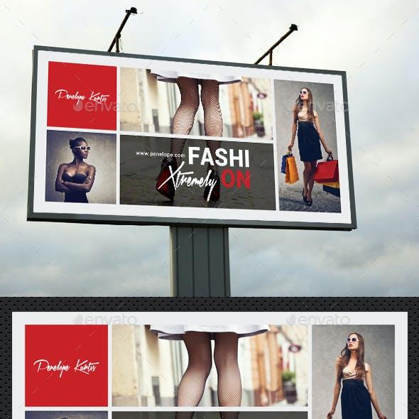 Fashion Poster - Banner - Billboard Bundle