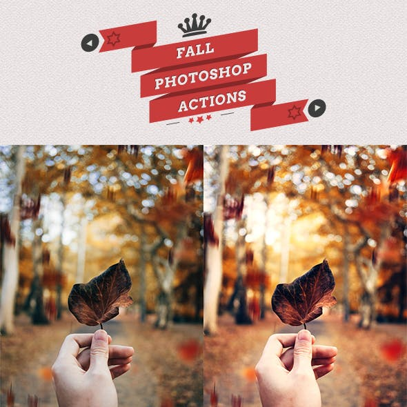 Fall Autumn - Photoshop Actions