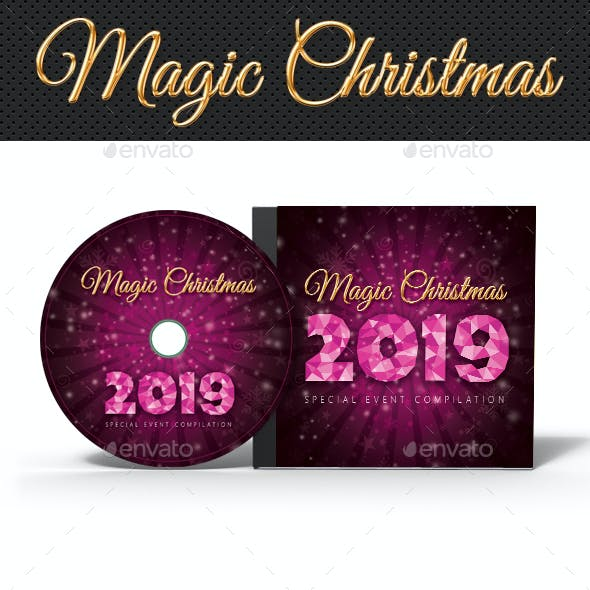 Christmas Holidays Music Party CD Cover V02