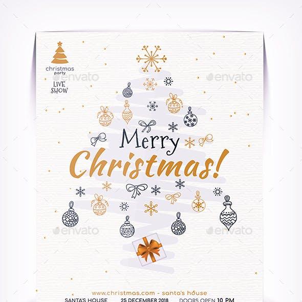 Christmas Day Flyer