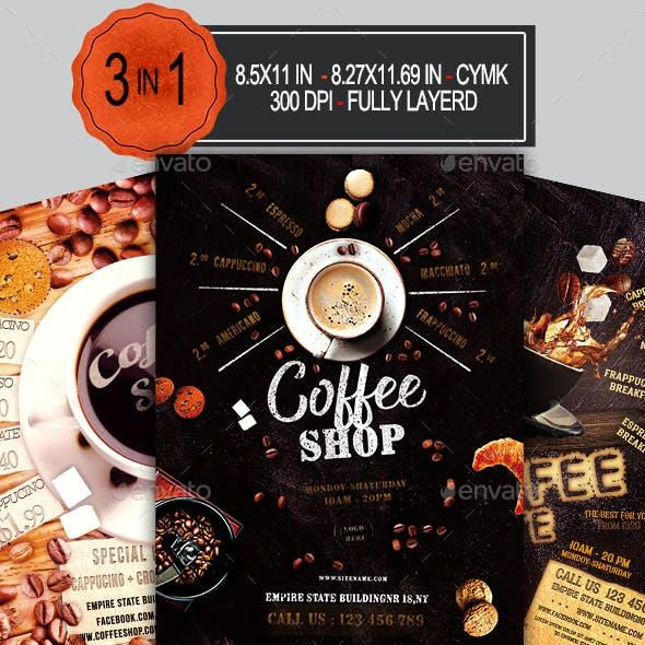 Coffee Shop Flyer Bundle