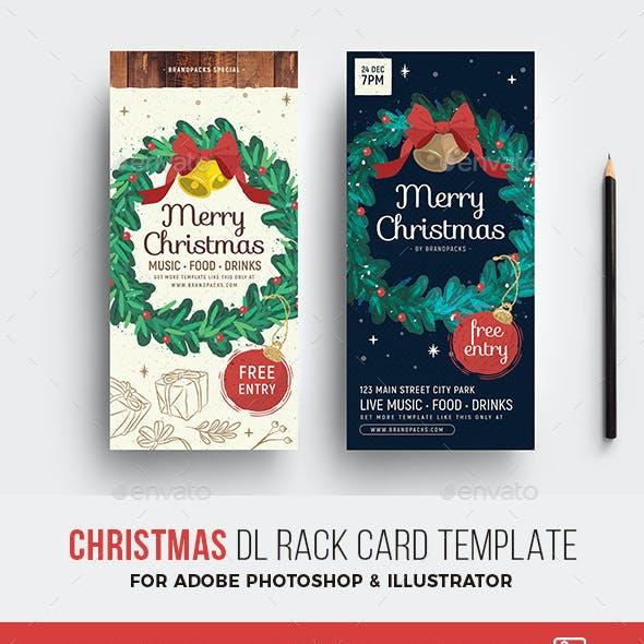 Christmas DL Rack Card