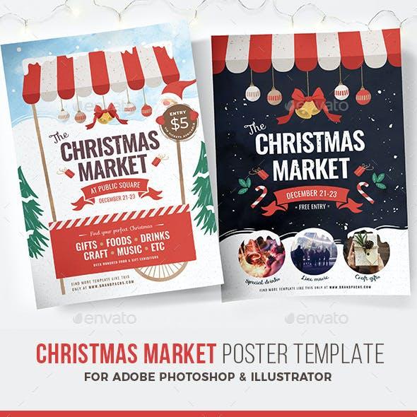 Christmas Market Flyer / Poster