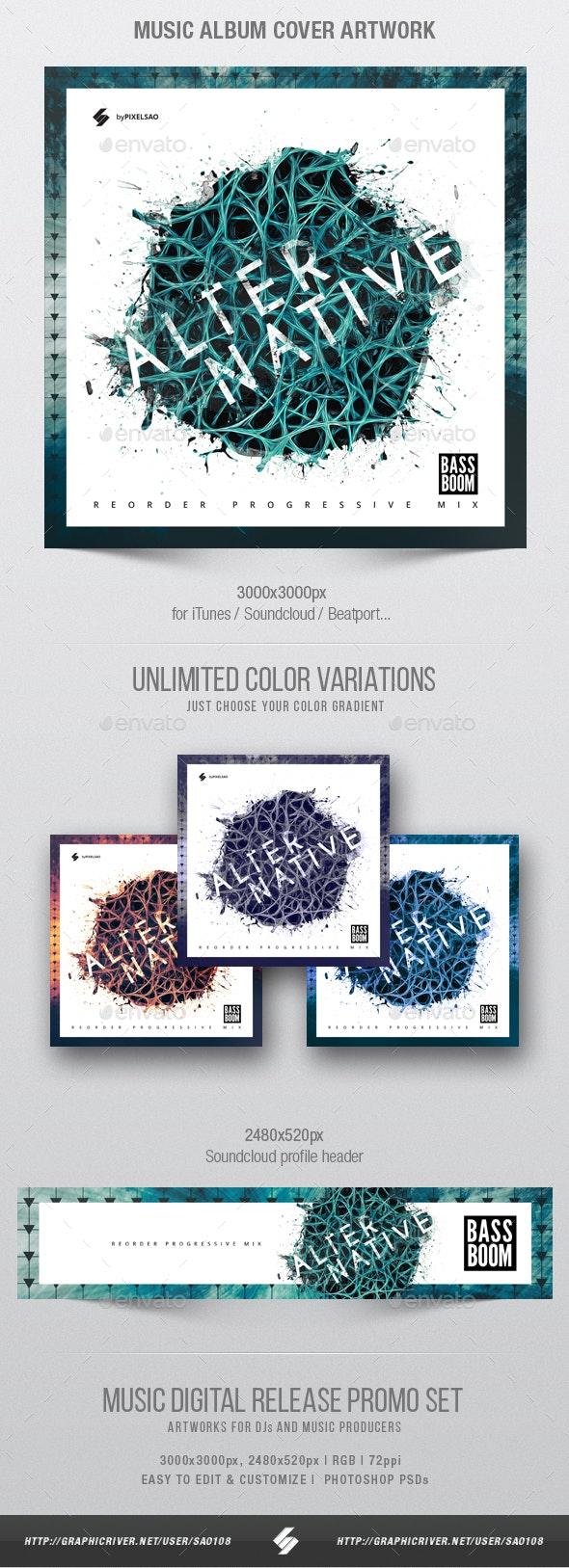 Alternative - Music Album Cover Artwork Template - Miscellaneous Social Media