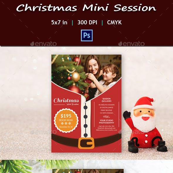 Christmas Mini Session V06