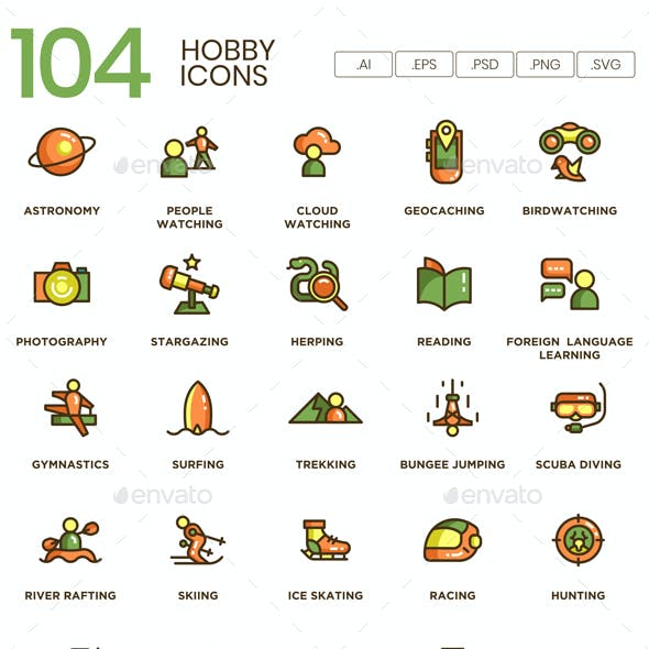 Hobby Icons