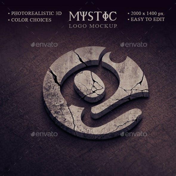 Mystic Logo Mockup