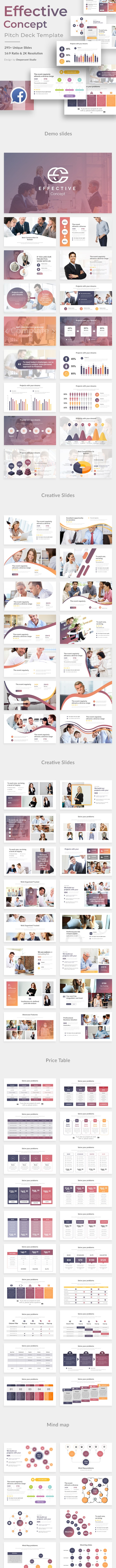 Effective Concept Pitch Deck Keynote Template - Business Keynote Templates