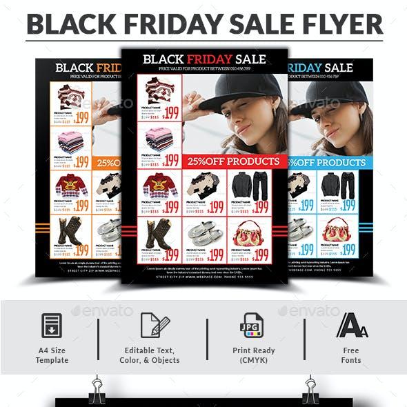 Black Friday Sale Flyer Templates