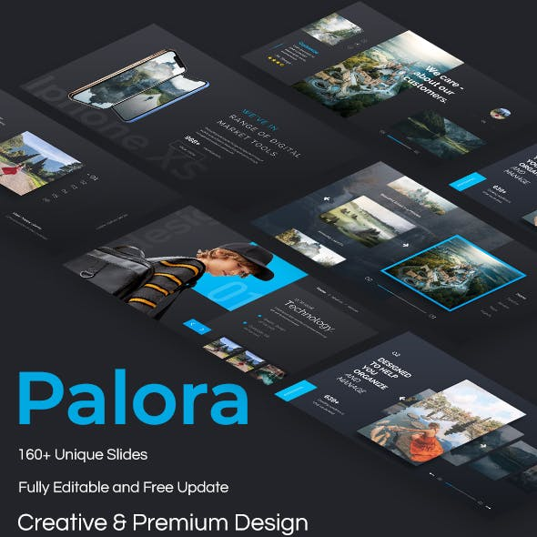 Palora Premium Powerpoint Template