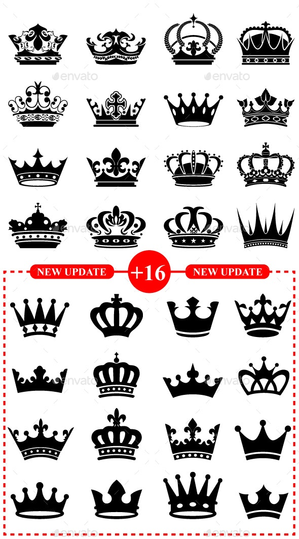 32 Royal Black Crowns - Miscellaneous Characters