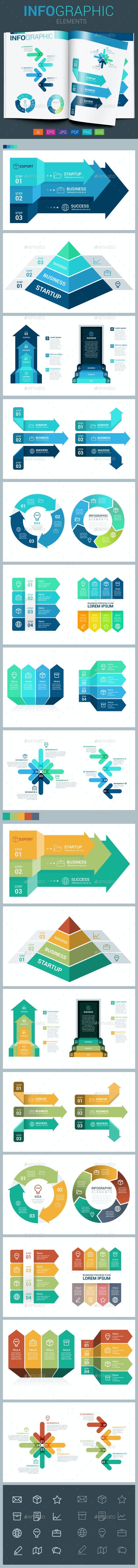 Infographic Elements - Arrow - Infographics