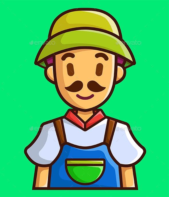 Farmer - People Characters