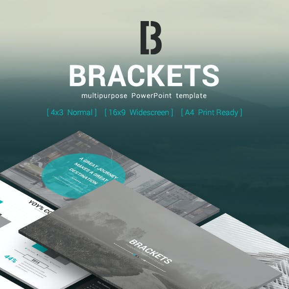 Brackets - Multipurpose PowerPoint Template