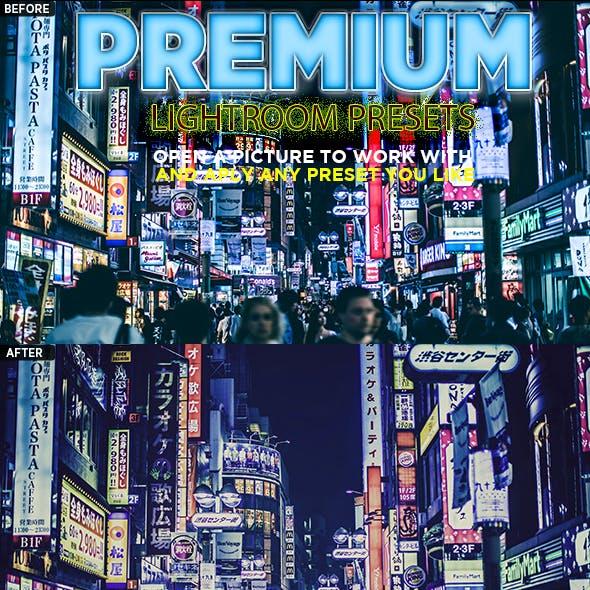 18 Premium Lightroom Presets