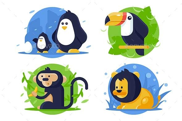 Animals Icons - Animals Characters