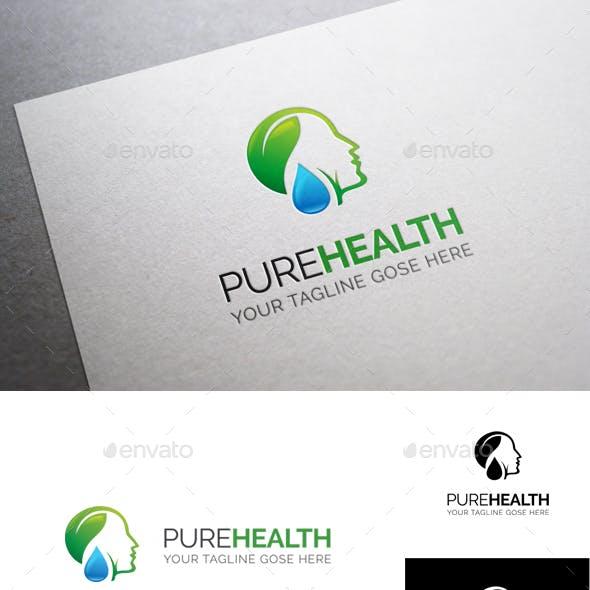 Pure Health Logo Template