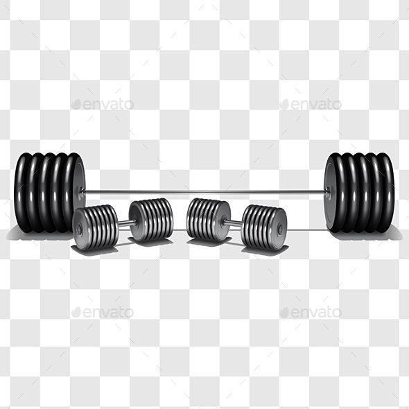 Fitness Barbell - Sports/Activity Conceptual