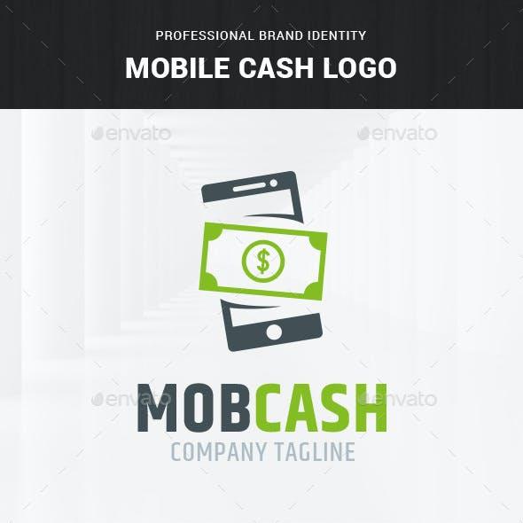 Mobile Cash Logo Template