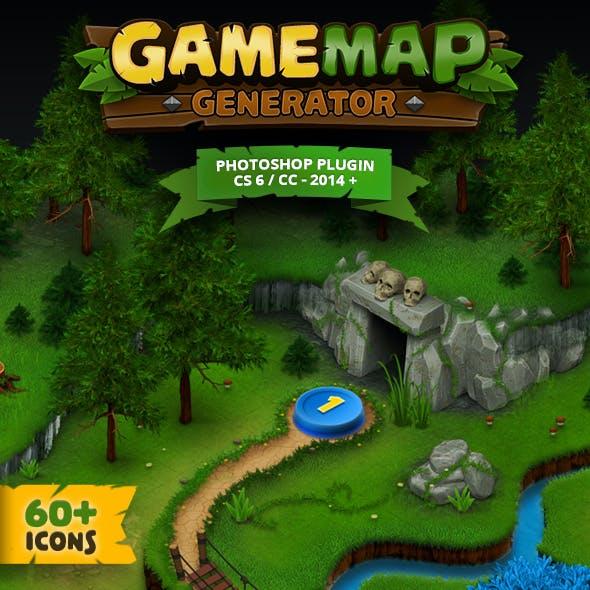 Game Map Generator
