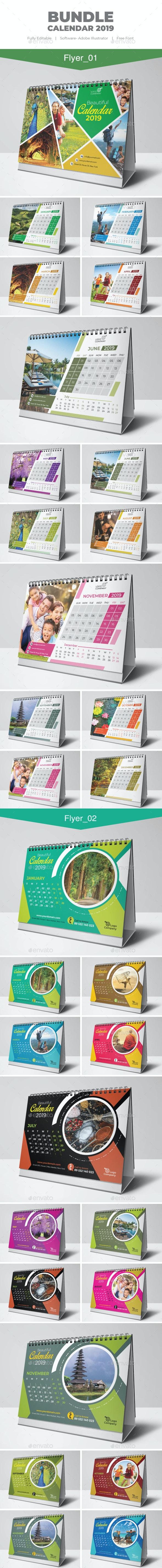 Bundle Calendar - Calendars Stationery
