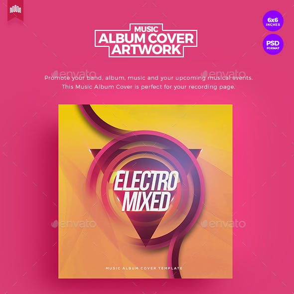 Electro Mixed - Music Album Cover Artwork