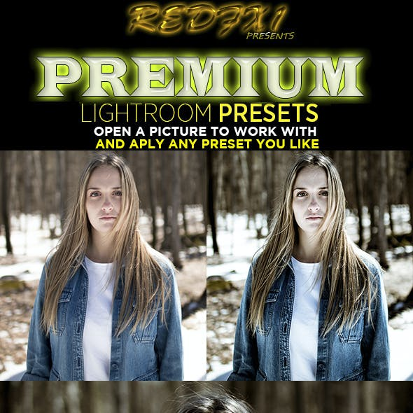 HDR Lightroom Preset V03