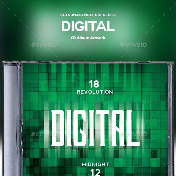 Digital CD Album Artwork