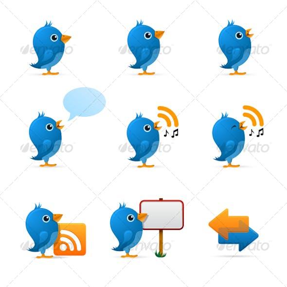 Download Twitter Birds