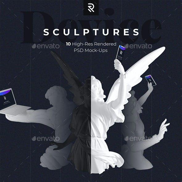 Device Sculptures Mock-Up