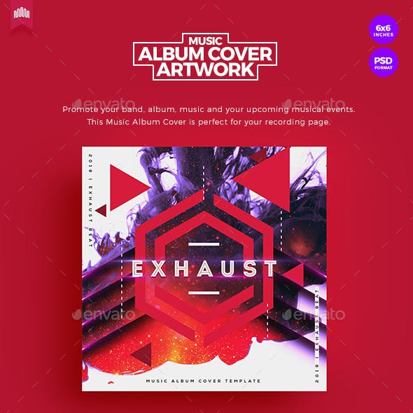 Exhaust - Music Album Cover Artwork