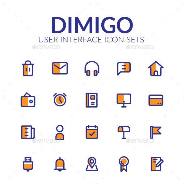 Dimigo User Interface Icon Sets