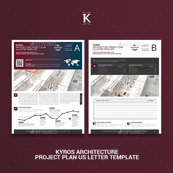 Kyros Architecture Project Plan US Letter Template