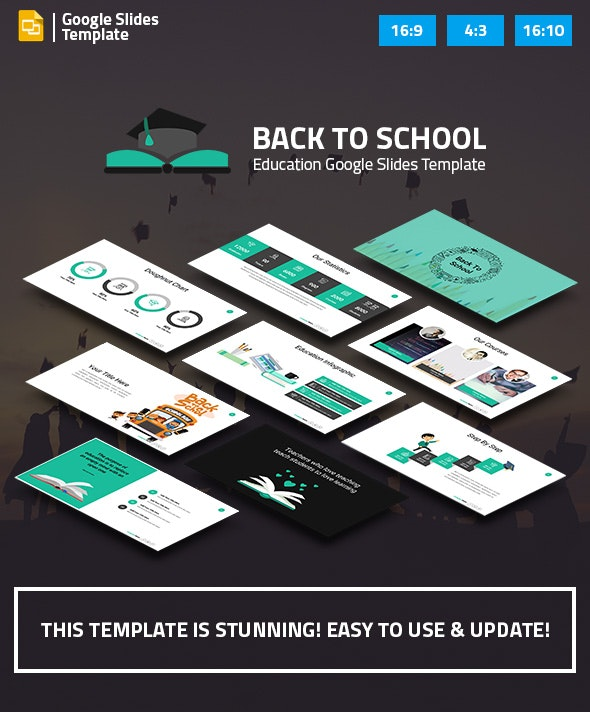 Education and Learning Google Slides Presentation Template - Google Slides Presentation Templates