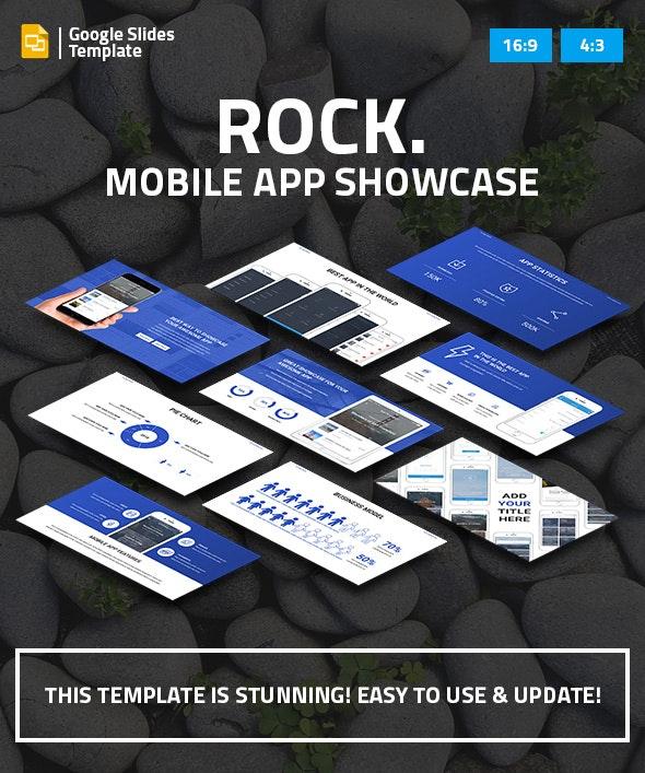 Mobile App Showcase Google Slides Pitch Deck - Google Slides Presentation Templates