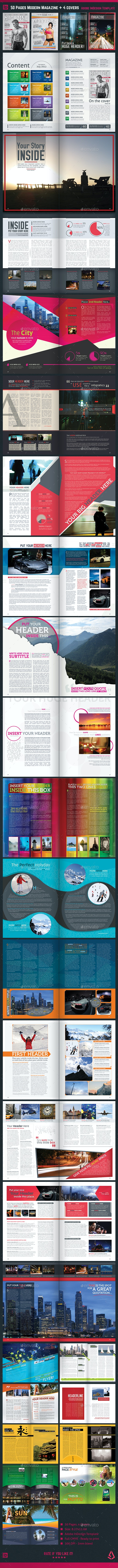 16 Best Magazine Templates  for July 2020