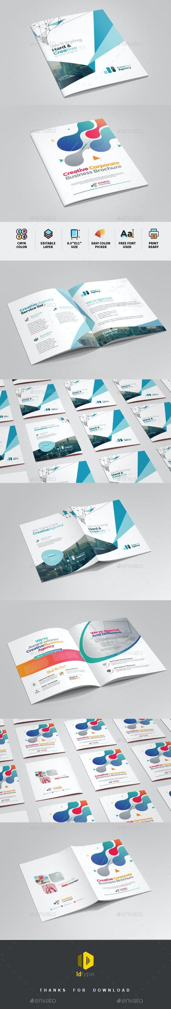 Bifold Brochure Bundle - Brochures Print Templates