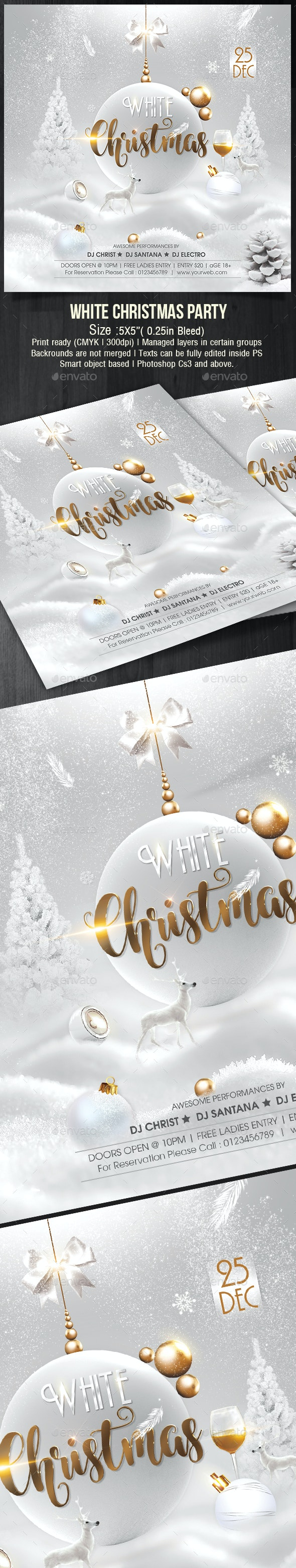 White Christmas - Holidays Events