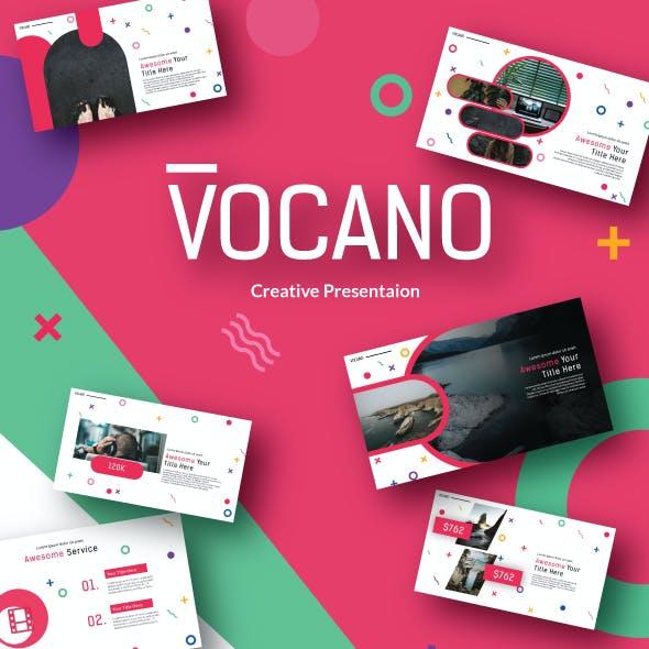 Vocano Creative - Powerpoint Template