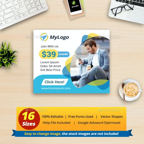 Multipurpose Business Banner Ads